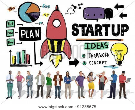 Start Up Business Plan Development Vision Concept