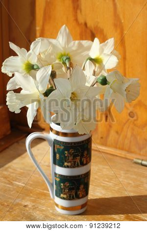 Bouquet Of White Narcissuses