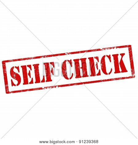 Self Check-stamp