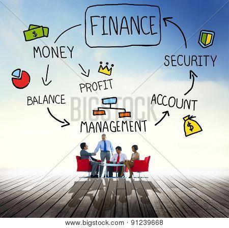 Finance Money Financial Profit Commerce Concept