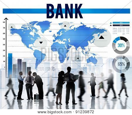 Bank Banking Finance Investment Money Concept