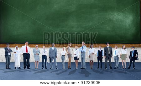 Business People Aspiration Team Corporate Concept