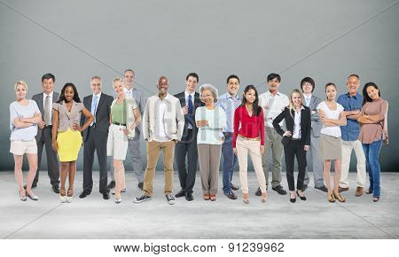 Diversity People Aspiration Community Group Concept