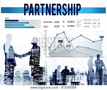 Partnership Team Corporate Collaboration Connection Concept