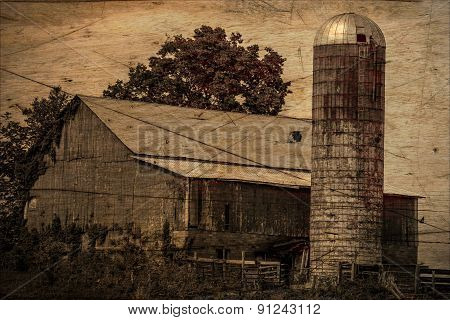 Vintage Farm Barn in Ohio