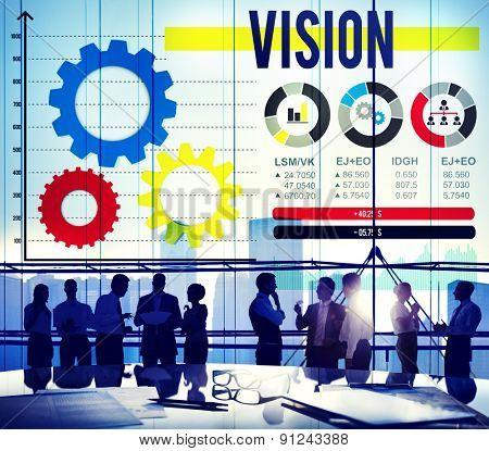 Vision Aspiration Inspiration Motivation Creativity Concept