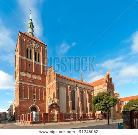 St John Church In Gdansk, Poland