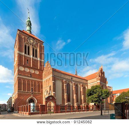 St John Church In Gdansk, Poland