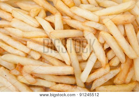 Photo of french fries crunchy close for wallpaper