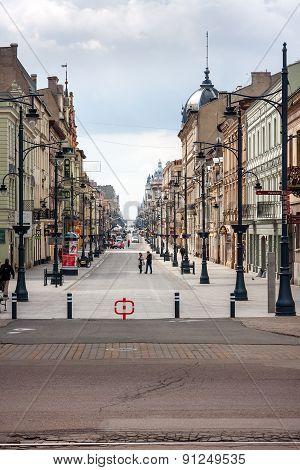Piotrkowska Street, Lodz City