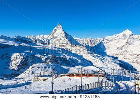 Matterhorn And Gornergratbahn