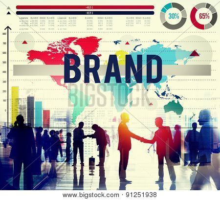 Brand Identity Marketing Copyright Concept