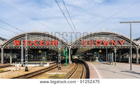 Wroclaw Main Railway Station