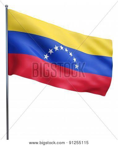 Venezuela Flag Waving