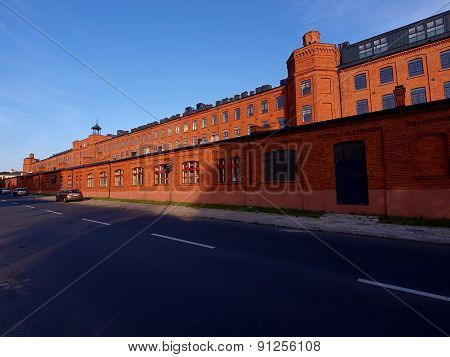 Lofts of old Scheibler's factory ..