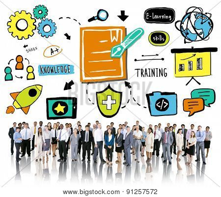 Business People Training Communication Corporate Ideas Concept