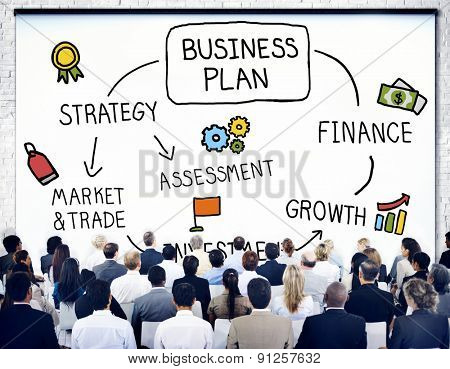 Business Plan Strategy Marketing Vision Concept