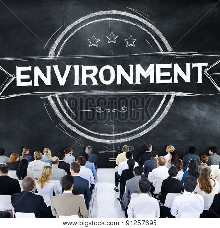 Environment Ecology Earth Green Business Concept