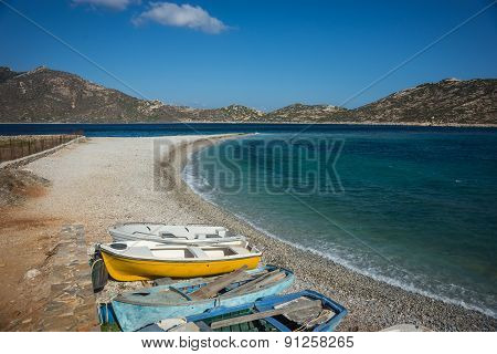 Agios Pablos Beach, Amorgos, Cyclades, Greece