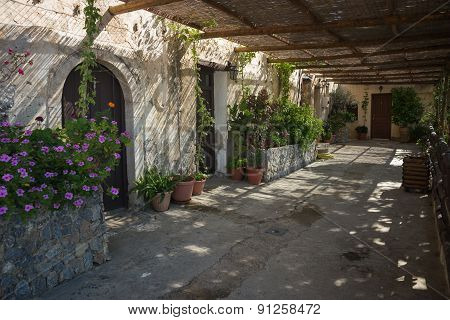 Preveli Monastery, Crete, Greece