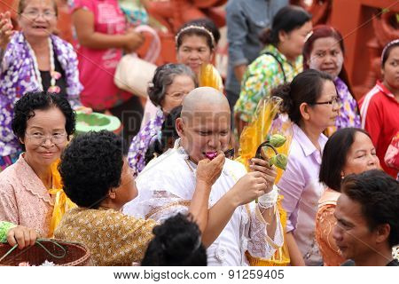 Celebration Of A New Buddhist Monk