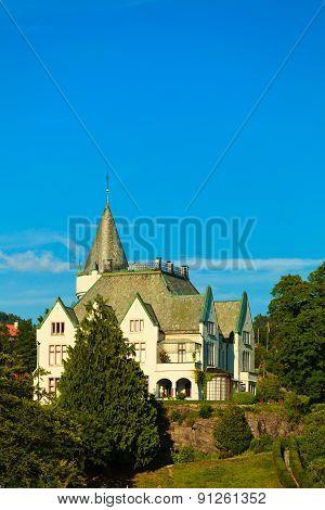Gamlehaugen Mansion Old Royal Palace Bergen, Norway.