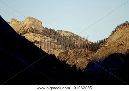 Mountains in Yosemite National Park, California, United States.