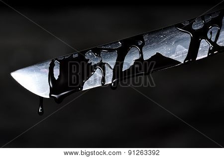 Sharp Katana Sword Blade