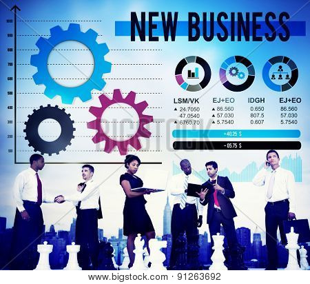 New Business Innovation Creativity Inspiration Ideas Concept