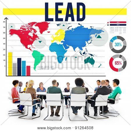 Lead Leader Leadeship Manager Director Concept