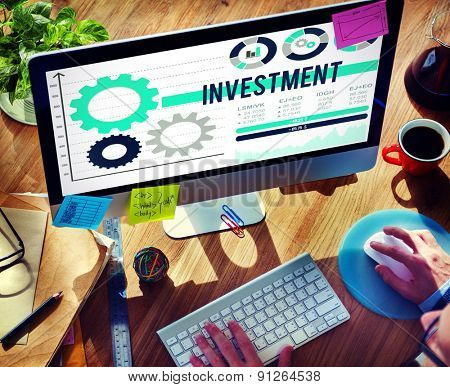 Investment Finance Money Profit Economy Currency Concept