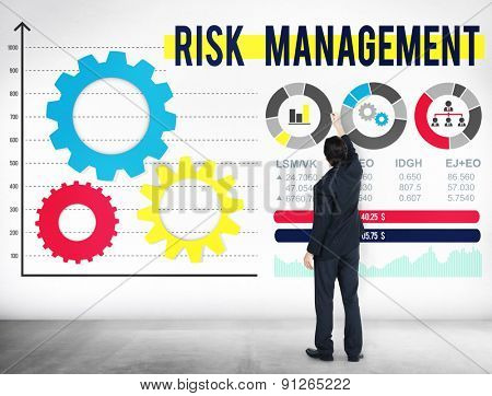 Risk Management Dangerous Safety Security Concept
