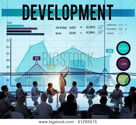 Development Growth Success Planning Research Improvement Concept