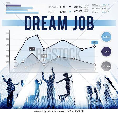 Dream Job Plan Career Goal Concept