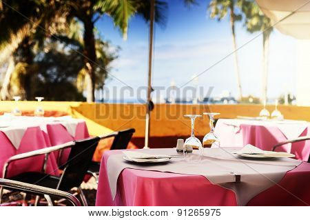 Terrace Of Seaside Restaurant