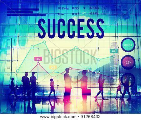 Success Goal Achievement Successful Complete Concept