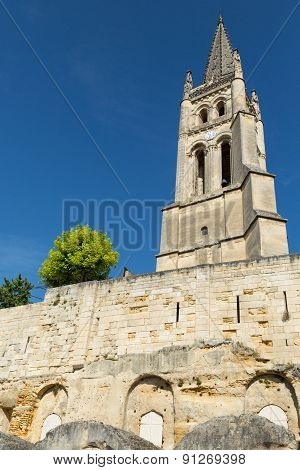 The Monolithic Church in St. Emilion