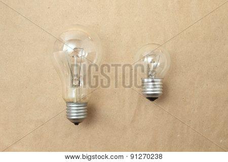 Big And Small Light Bulbs