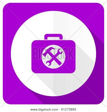 financial pink flat icon