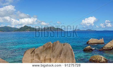Granite Rocks Onla Digue