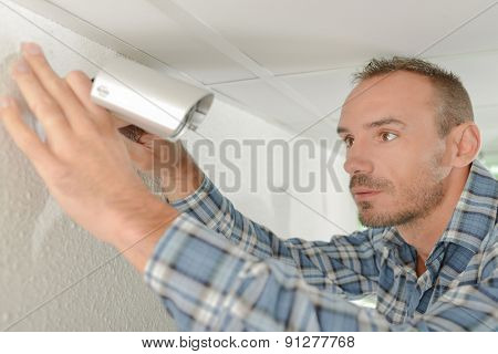 Fitting a security camera