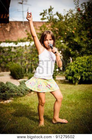 Singing is my joy