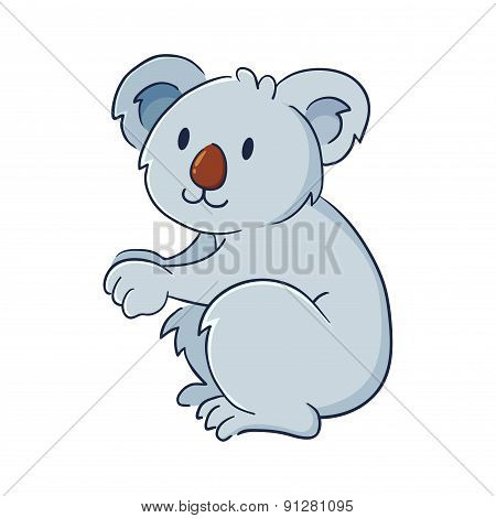 Koala Bear Illustration