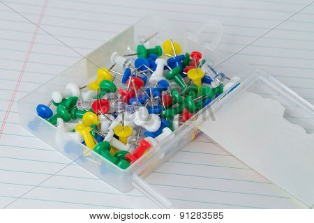 Case Of Thumb Tacks