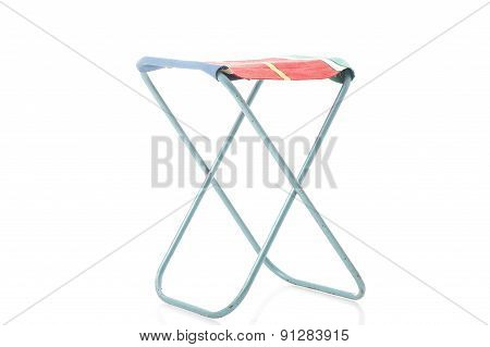 Class Metal Frame Portable Folding Stool
