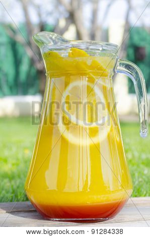 Lemonade With Mint And Syrup