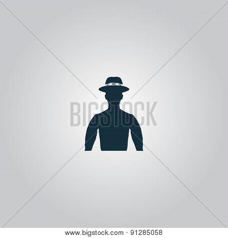 man on hat avatar