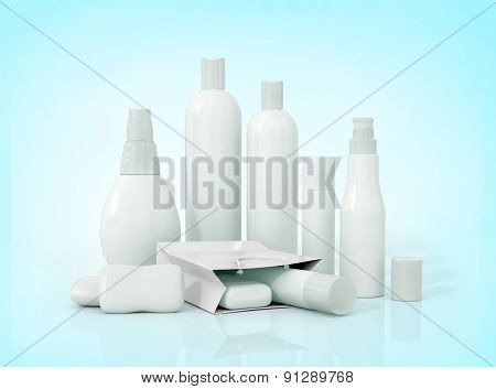 Blank Packaging - Bottles, Cosmetics