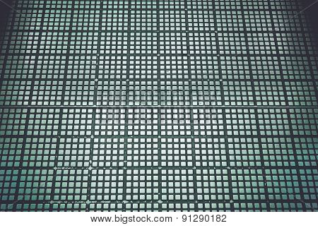 Texture Of Silver Metal Platform On The Floor For Background