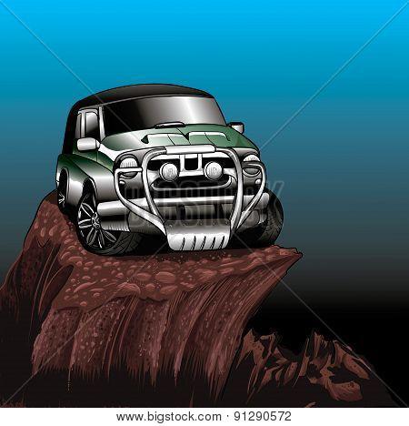 Green Jeep